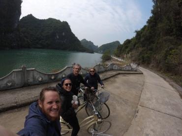 Balade en vélo sur l'île de Cat Ba