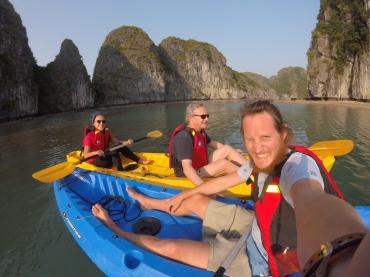 Les aventuriers en kayak
